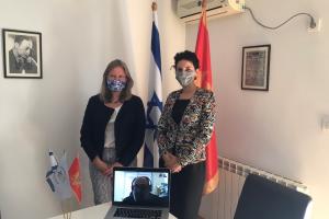 Britanska ambasadorka posjetila Jevrejsku zajednicu Crne Gore