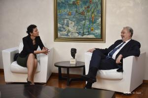 Predsjednica Jevrejske zajednice Crne Gore Nina Ofner Bokan razgovarala sa predsjednikom Vlade Crne Gore prof. dr Zdravkom Krivokapićem