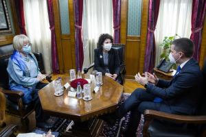 Jevrejska zajednica na sastanku sa Predsjednikom Skupštine Crne Gore