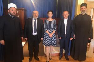 Sastanak sa Vrhovnim rabinom Crne Gore Lucianom Mošom Prelevicem