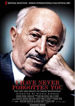 I Have Never Forgotten You - Simon Wiesenthal (Holocaust - Nazi Hunter)
